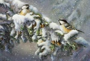 Winter Companions by Wanda Mumm