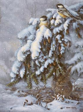Winter Hideout by Wanda Mumm