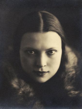 Self-Portrait of Wanda Wulz, Photograph Used in the Superimposed Photo Me and Cat by Wanda Wulz