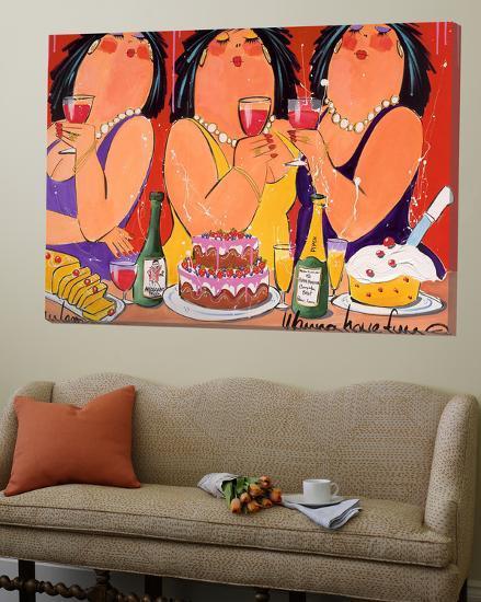 Wanna Have fun-El Van Leersum-Loft Art