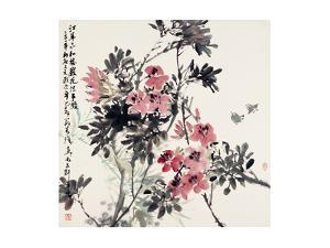 Blossoms in the Spring (I) by Wanqi Zhang