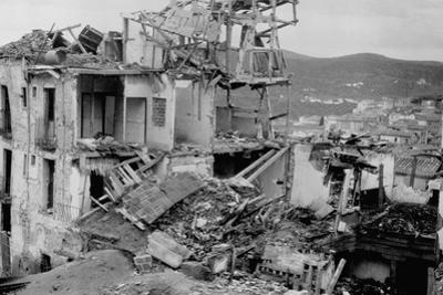 War Damage in Spain