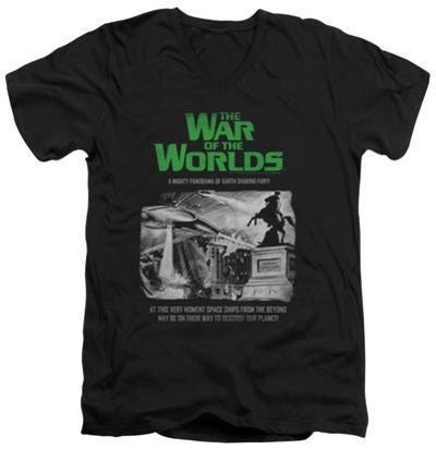 War Of The Worlds - Attack People Poster V-Neck