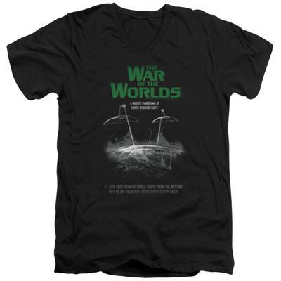 War Of The Worlds - Attack Poster V-Neck