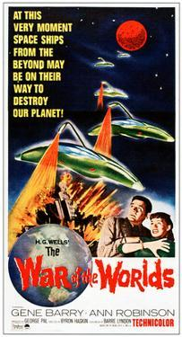 War of the Worlds, Bottom From Left: Gene Barry, Ann Robinson, 1953