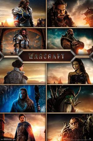 Warcraft- Movie Cast Grid