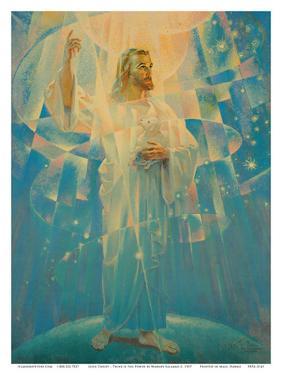 Jesus Christ - Thine is the Power by Warner Sallman