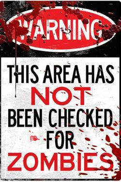 Warning Area Not Checked For Zombies
