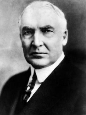 Warren G. Harding, United States President 1921-1923, 1920s