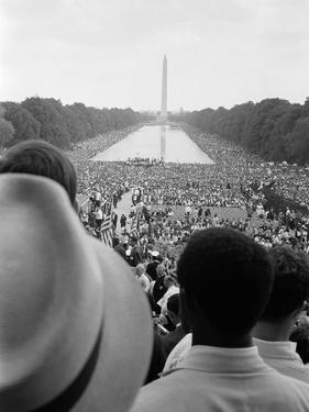 Civil Rights March on Washington, D.C. by Warren K. Leffler