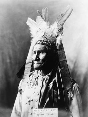 Geronimo (1829-1909) by Warren Mack Oliver
