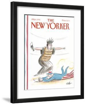 The New Yorker Cover - July 6, 1992 by Warren Miller