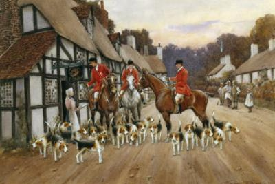 Refreshments at the Inn by Warren Williams