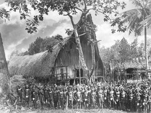 Warriors Outside a Worship House
