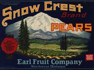 Warshaw Collection of Business Americana Food; Fruit Crate Labels, Earl Fruit Company
