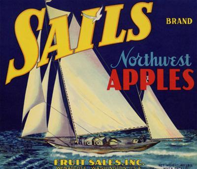 Warshaw Collection of Business Americana Food; Fruit Crate Labels, Fruit Sales Co.