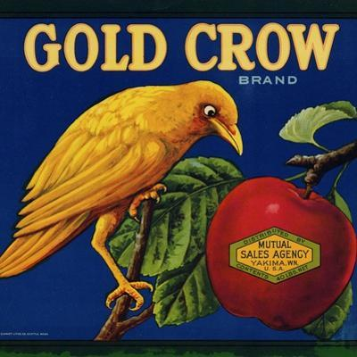 Warshaw Collection of Business Americana Food; Fruit Crate Labels, Mutual Sales Agency