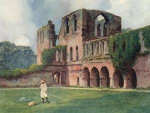 Furness Abbey, Goble 1908 by Warwick Goble