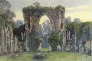 Netley Abbey, West, 1908 by Warwick Goble