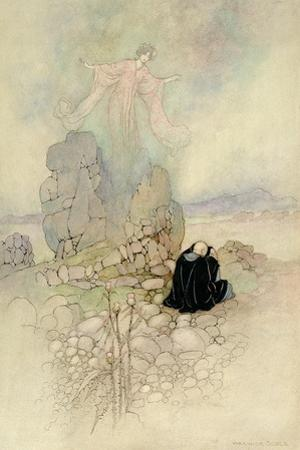 Tamamo, the Fox Maiden, 1910 by Warwick Goble