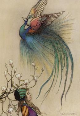 The Girl the Tree and the Bird of Paradise by Warwick Goble