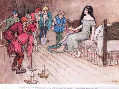 They Were Very Friendly However by Warwick Goble