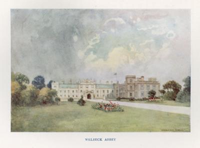 Welbeck Abbey, 1908 by Warwick Goble