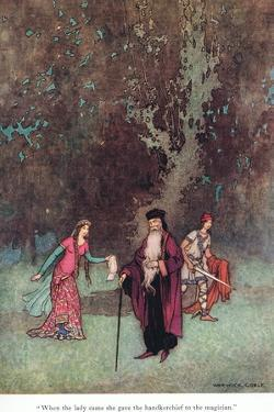 When the Lady Came by Warwick Goble