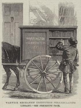 Warwick Mechanics' Institution Perambulating Library