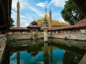 Washing pool next to Thanboddhay Temple, Monywa, Sagaing Region, Myanmar