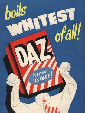 Washing Powder Products Detergent, UK, 1950
