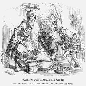 Washing the Blackamoor White, 1858