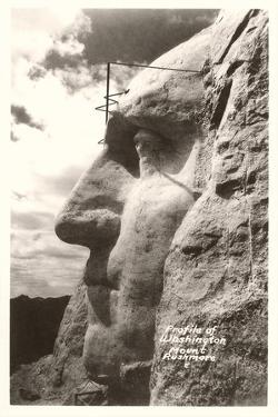 Washingiton's Profile, Mt. Rushmore