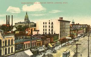 Washington Avenue, Lansing, Michigan