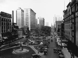 Washington Boulevard, Detroit, 1920