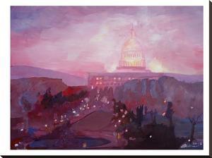 Washington Capitol3 Dusk by M Bleichner