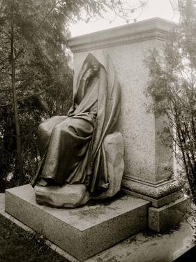 Washington, D.C., Grief (Adams Monument) by St. Gaudens, Rock Creek Cemetery