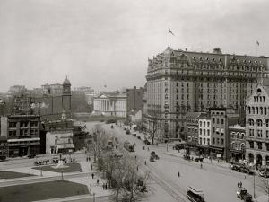 Washington, D.C., Pennsylvania Ave., West from Eleventh Street