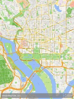 Washington, D.C., United States of America Map