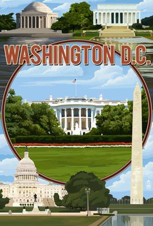 Washington Dc - Montage