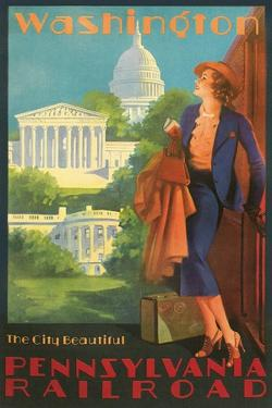 Washington, DC Travel Poster