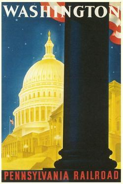 Washington, DC Travel Poster