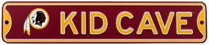 Washington Redskins Steel Kid Cave Sign