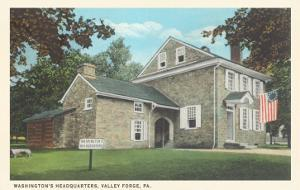 Washington's Headquarters, Valley Forge, Pennsylvania