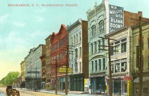 Washington Street, Binghamton, New York