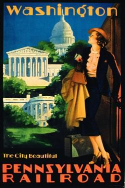 Washington, the City Beautiful', Advertisement for Pennsylvania Railroad