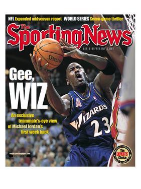 Washington Wizards' Michael Jordan - November 12, 2001