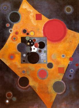 Aczent in Rosa by Wassily Kandinsky
