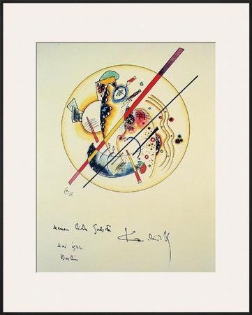 Aquarelle aus Dem, 1922 by Wassily Kandinsky
