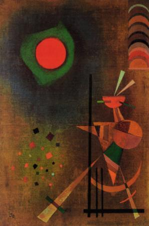 Aufleuchten by Wassily Kandinsky